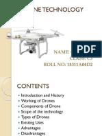 Drone Technogoly