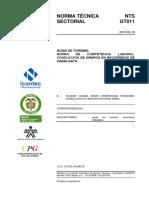 Ntsgt 011 Conducción de Grupos en Recorridos de Cabalgata