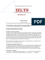 IELTS Speaking Test 5 (Your Home Area, Describe a Problem That Affects the Environment)