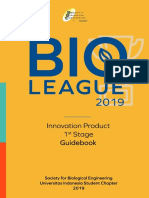 Innovation Product 1st Stage Guidebook