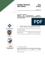 Ntsgt 009 Conducción de Grupos en Recorridos de Alta Montaña