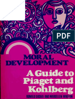 Ronald Duska_ Mariellen Whelan - Moral Development - A Guide to Piaget and Kohlberg (1975, Paulist Press).pdf