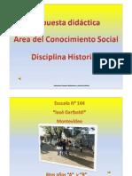 Presentación Escuela Nº 144