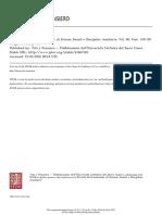 Rivista Internazionale Di Scienze Sociali e Discipline Ausiliarie Volume 80 Issue 318 1919 [Doi 10.2307%2F41607301] -- Razón y Fe, Revista Mensual. Lo Subconsciente (Il Subcosciente)by I. M. Ibero