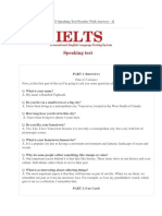IELTS Speaking Test 11 (Your Hometown, Describe a Small Company in Your Hometown)
