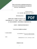 DISPLAZII  LOMBO-SACRALE  ALE  COLOANEI  VERTEBRALE  LA  COPIL.  ASPECT  CLINICO-PARACLINIC ŞI  MANAGEMENT  ORTOPEDO-CHIRURGICAL .pdf