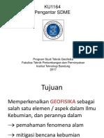 KU1164 Pengantar SDME 2017