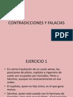 CONTRADICCIONES Y FALACIAS