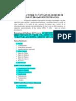 La estructura del Informe del Proyecto.docx