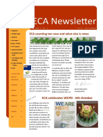 eca newsletter autumn 2018