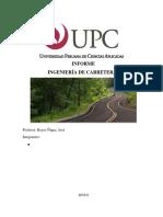 Informe Final Carreteras