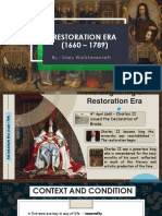 Restoration Era by Tentri HS