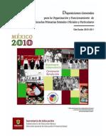 Disposiciones Completo 2010-2011 Agosto Bueno