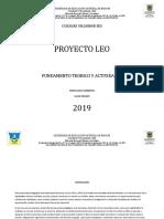 Proyecto Leo 2019
