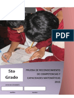 Progrma Curricular de Matemática