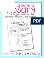 A Childrens Rosary Prayer Guide for Students Teachers and Parents