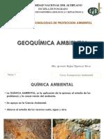 Tema 1. La Quimica Ambiental