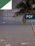 Sierra Leone Fiscal Guide 2017 - 2018