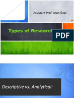 5Types of Research