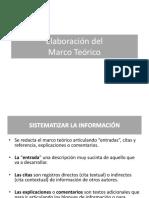 Ayuda Marco Teorico