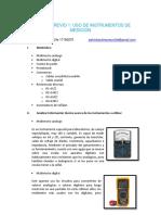 INFORME PREVIO ELECTRONICOS