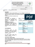 Formato Para Informe ORGANICA 2
