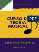 CURSO de TEORIA MUSICAL - E-book Com 28 Vídeos - Darlan Freitas