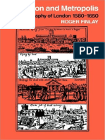 (Cambridge Geographical Studies) Roger Finlay-Population and Metropolis_ the Demography of London 1580-1650-Cambridge University Press (2009)