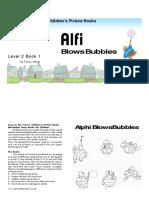 Alif Blows Bubbles FKB Kids Book