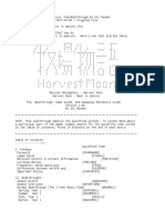 Harvest Moon BTN Walkthrough