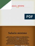 Salario  mínimo