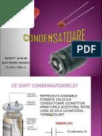 Condensatoarele ppt