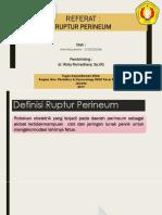 Referat Ruptur Perineum