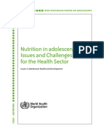 Nutrition in Adolecence and Challeneges in Health Sector - WHO.pdf