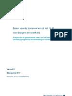 Baten Bouwstenen NUP (rapportage)
