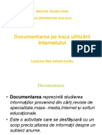Documentare Internet-SEMINAR 1,2