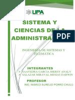 Sistema y Ciencias de La Administracion