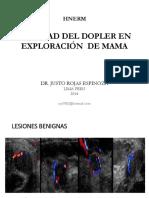 Utilidad Del Doppler en La Exploración de La Mama