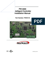 PW-3000 CONTROLLER MANUAL HONEYWELL