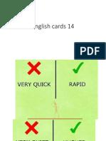 English Cards 14