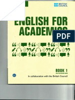 [English for Academics 1] Cambridge University Press - English for Academics Book 1 (2014, Cambridge University Press).pdf