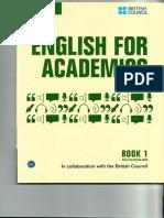[English for Academics 1] Cambridge University Press - English for Academics Book 1 (2014, Cambridge University Press).pdf
