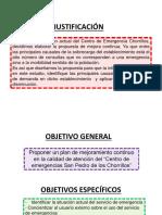 Ppt Justificacion y Objetivos