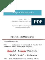 Design of Mechatronics