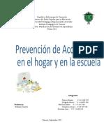 Proyecto Previniendo Accidentes en Mi Hogar y en La Escuela Correcciones[1]