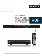 RDS-581WHD Manual Instrucciones