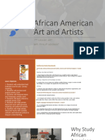 lecture african american art and artists