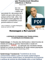 2 0900 Moyses Szklo Epidemiologia Translacional Plen 1 29.07 Conferencia de Abertura