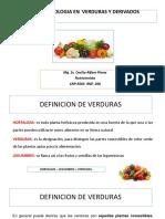 Clase de Verduras Bromatologia