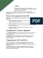 Concepto de TIC